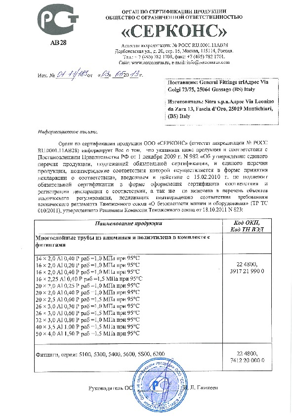 5300 сертификации продукции 2