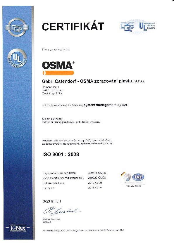 ISO 9001 KG 2000 POLYPROPYLEN