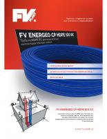 Листовкa FV ENERGEO CP HDPE 100 RC