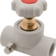 Клапан прямоточный пластикоый с выпускным клапаном - klapan-pryamotochnyj-plastikoyj-s-vypusknym-klapanom - 20 - 0-17 - 50 - czech-republic - fv-plast-a-s - seryj