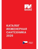Каталог MIANO FV RUS 2020